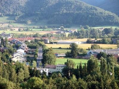 Imatge de la zona de l'Horta del Valira