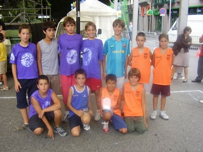 Bàsquet - Finalistes infantil
