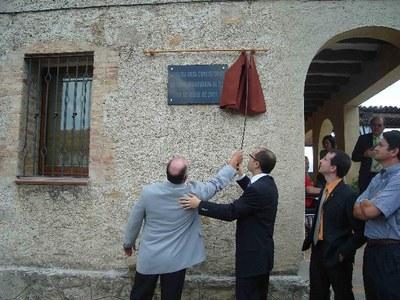 Inauguració de l'Ajuntament de Cabó