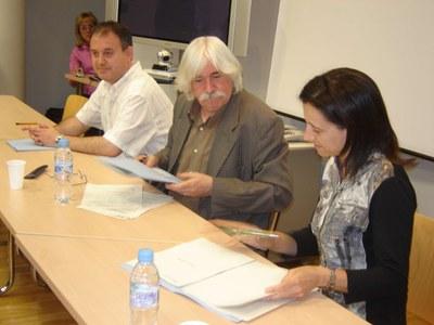 Firma del conveni del Pla de qualitat del col.legi Pau Claris