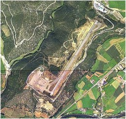 Aeroport de la Seu - Imatge aèria
