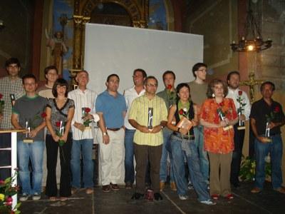 Festa del Llibre Pirinenc - Guanyadors 2007