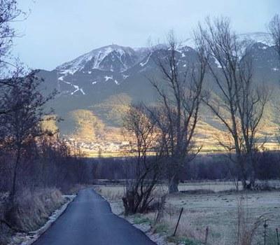 Un camí local del Pirineu