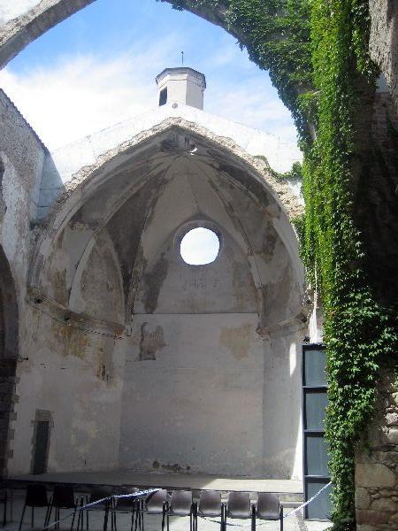Cúpula del recinte de Sant Agustí (Tatiana Gallardo)