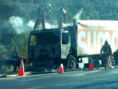 Camió Incendiat 2