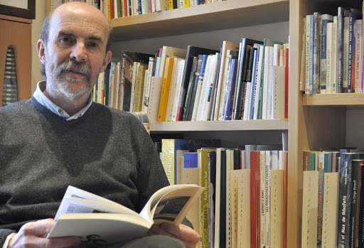 Joan Obiols presenta el llibre Viatge íntim per la Seu d