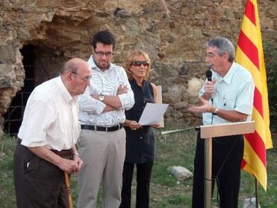 Lliurament del premi Estel 2007 a Josep Vilarrubla