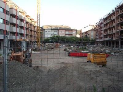 Ubicació de la futura Plaça del Codina