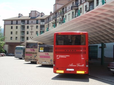 Estació d'autobusos de la Seu d'Urgell
