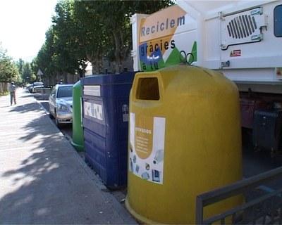Contenidors per al reciclatge