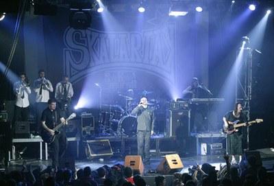 Actuació del grup Skalariak