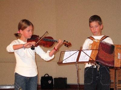 Alumnes de l'Escola de Música de la Seu