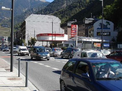 Andorra - Trànsit