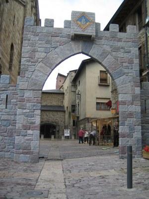 Mercat Medieval de la Seu - Porta d'entrada