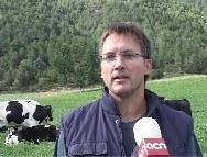 Joan Guitart, responsable del sector lleter d'Unió de Pagesos